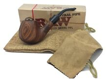 RAW WOODEN UNCOATED SMOKING PIPE TOBACCO PIPE HAND MADE NATURAL COLLECTORS ITEM