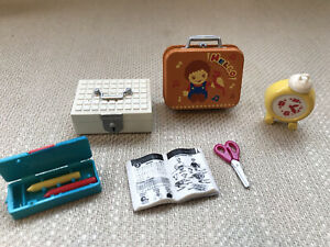 RE-MENT American Kitchen #5 School Lunchbox 1:6 Barbie mini dollhouse