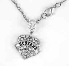 Montana Necklace Montana Gift chain Montana  Present Montana Pendent MT Gift