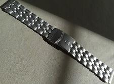 Timex Stainless Steel Ironman Triathlon 18mm Buckle Clasp Watch Band Deployment