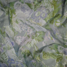 Etro authentic mulberry silk FABRIC. Made in Italy. Flowers print. Price for 1m.
