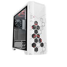 PC Gehäuse AZZA STORM 6000W -weiß-4x 120mm FAN-RGB-Sichtfenster