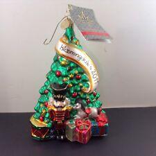 Radko Christmas Tree Ornament Nutcracker Presents Pony Bloomingdale's 2011