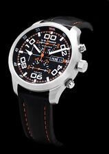 N.B. yäeger Charlie aviateur chronographe ETA 7750 swiss made * Top Modèle de démonstration