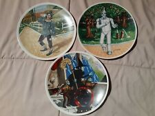 Wizard Of Oz Knowles Collector's Plates Lot Of 3