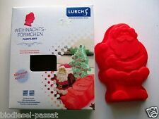 LURCH Flexi®Light Silikon-Backform Weihnachtsmann rot *