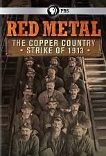 Red Metal: The Copper Country Strike of 1913 (DVD, 2014)