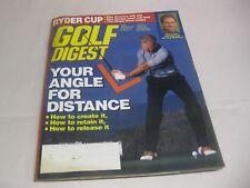 New listing Golf Digest magazine, September 1995