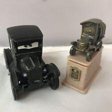 Disney Pixar Cars Mattel Diecast Stanley Statue & Lizzie. Radiator Slings Series