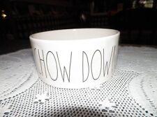 New listing Rae Dunn *Chow Down* Dog Bowl by Magenta Farmhouse