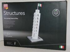 The Leaning Tower of Pisa Block Tech Structures Building Set