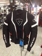 Giacca Rev'it Raceway nero rosso Tg XL outlet fineserie prezzo fiera