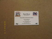 WCHL Phoenix Mustangs Vintage Defunct Business Card