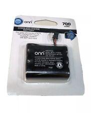 Onn Cordless Phone Battery 3.6V 700Mah Nimh  For Att GE Panasonic Sony SW Bell A