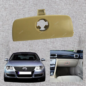 Glove Box Storage Lid Lock Handle Cover (BEIGE)For VW Passat Estate B5&B5.5