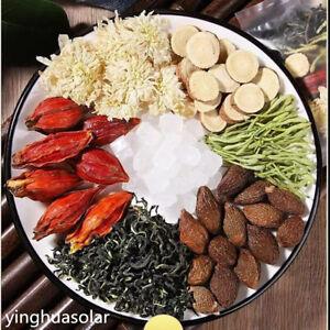 200g Whole Herbals Mixs Tea Bags 胖大海 菊花 甘草 金银花 蒲公英 栀子 混合中药茶  Natural Herbal Tea