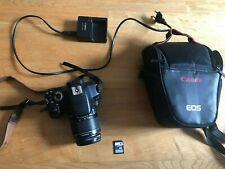 Canon EOS 650D DSLR Camera (Rebel T4I) + 18-55mm Lens + 16 GB Memory Card + Bag