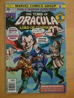 The Tomb of Dracula Comic Book #53, Marvel Comics 1977 VERY NICE