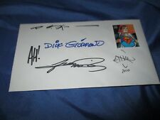 SUPERMAN Signed DC Comics Art Stamp~Dick Giordano/George Perez/Adam Hughes+