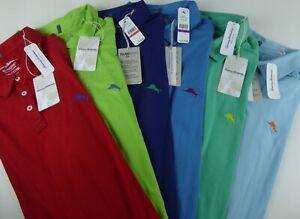 Tommy Bahama Island Zone Tropicool Spectator 30 UPF Stretch Polo Shirt NWT $110