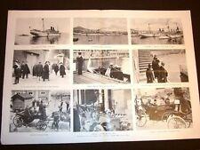 L'Imperatore Guglielmo II di Germania a Napoli nel 1905 Hamburg Arsenale Vomero