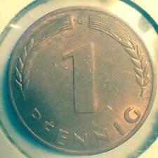 GERMANY UNCIRCULATED 1950-G 1 PFENNIG, KM105