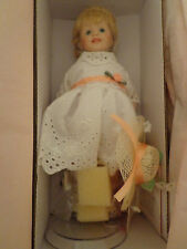 Paradise Galleries Porcelain Doll Treasury Collection COA SUNDAY'S CHILD New