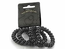 Black Telephone Scrunchie Hair Bobbles