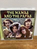 The Complete Singles: 50th Anniversary Collection by The Mamas & the Papas (CD,