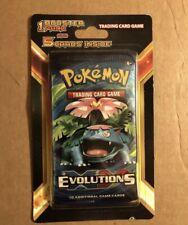 Pokemon Evolutions XY Booster Pack Plus 5 Cards Blister (VENASAUR) New Sealed