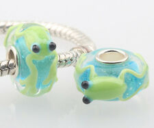 1pcs MURANO GLASS BEAD LAMPWORK Fit European Charm Bracelet DW-011 lovely Animal