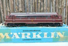 Marklin 3067 Ho Scale Märklin diesel locomotive Maroon MY 1100 of the DSB