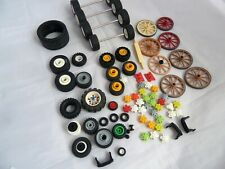 Playmobil Spare Parts: wheels and axles for cars, trucks, carts