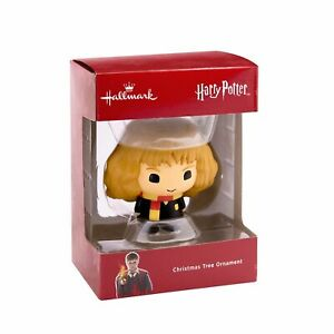Hallmark Christmas Tree Ornament Harry Potter Figure Hermione Magic Fantasy ~