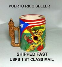 Isla Puerto Rico Flag Coffee Mug Cup Winter Hot Breakfast Kitchen Food Cookingoo