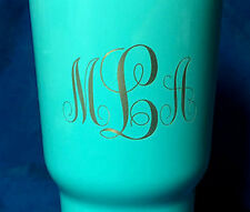Personalized Rtic 30oz Stainless Steel Cup - Laser Etched