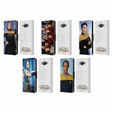 OFFICIAL STAR TREK ICONIC CHARACTERS VOY LEATHER BOOK CASE FOR SAMSUNG PHONES 2