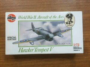 Vintage Airfix Hawker Tempest V Aircraft of the Aces Special Edition 1/72 Kit