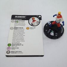 Heroclix The Mighty Thor set Piledriver #016 Common figure w/card!