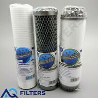 Aquafilter 3 Stage HMA Heavy Metal Reduction Water Filter System Replacements