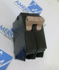 CUTLER HAMMER CH220 20 amp 2 pole plug in 120//240 vac Metal Feet Partial Notch