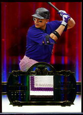 2013 Topps Tribute CARLOS GONZALEZ Rockies To the Stars (4 Color) Patch - 06/10