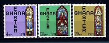 GHANA - 1971 - Finestra della chiesa da Accra: Pasqua