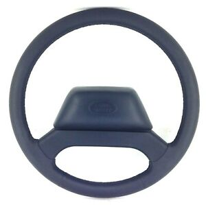 Genuine Land Rover Defender XS black leather steering wheel from 2015 SUPERB 15A
