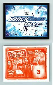 Smackdown Live Logo #3 WWE The Ultimate Collection 2017 Topps Sticker