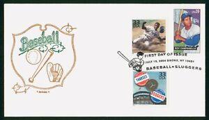 MayfairStamps US FDC Unsealed 2006 Baseball Slugger Roy Campanella Artopages Fir