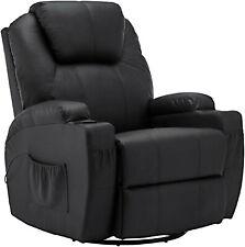 MCombo Massagesessel Fernsehsessel Relaxsessel mit Heizung Dreh 360° Schaukel