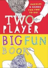 NEW - Two-Player Big Fun Book: Puzzles & Games for Two to Do!