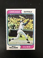 1974 TOPPS #110 BILLY WILLIAMS HOF CHI CUBS— PACK FRESH💥*** (wph)
