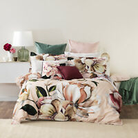 Tazanna Quilt Cover Set Blush